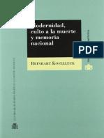 KOSELLECK_ Modernidad, culto a la muerte y memoria nacional.pdf