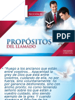 2 PROPOSITOS DEL LLAMADO
