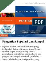 05-POPULASI DAN SAMPEL