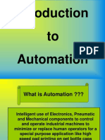 Basic introduction to AUTOMATION