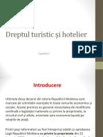 Introducere în Dreptul turistic și Hotelier