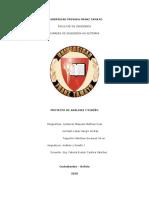 Análisis y Diseño Informe - Taquichiri, Gutierrez, Hurtado