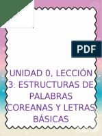 UNIDAD 0 LECCIÓN 3