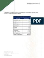 Lista de Examenes medicos (Anexo N° 2)