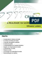 1. Realidade Da Saúde No Brasil V01 - JANEIRO 2018