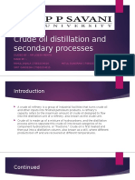 Crude oil distillation and secondary processes.pptx