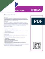 SUMA CHLORDES CONC  D10.4