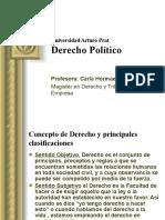 Derecho politico clase primera