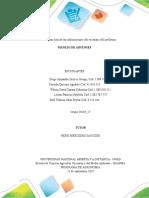 manejo de arvences, trabajo colaborativo, unidad 1, paso 2, Lista de la informacion de los escenarios del problema, Grupo 30164_17#2