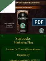 Marketing End Term Project Presentation on Starbucks
