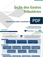 F__Subsidios da Uniao_Tarde_01 - Jorge Antonio - RFB - Apresenta__o Evolu__o do Gasto Tribut_rio_10_2017_V5 - I.pptx