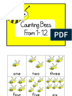 Counting Bees From 1 - 12