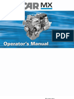 PACCAR Engine Manuals_PACCAR MX Engine Operator's Manual