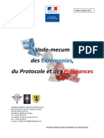 VADEMECUM-CEREMONIES-PROTOCOLE-PRESEANCES - France