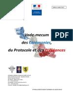 VADEMECUM-CEREMONIES-PROTOCOLE-PRESEANCES - France