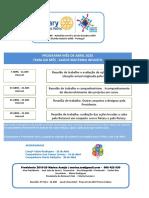 Programa Rotary t Vedras Abril 2020