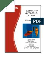 G4 Hydrocyclone Manual
