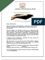 Alumni meet invitation letter copy of invitation letter alumni 2 stopboris Image collections
