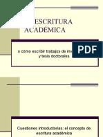 LA ESCRITURA ACADÉMICA.ppt