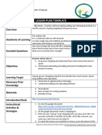 virtual learning lesson plan