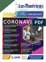 DIARIO LAS AMÉRICAS Portada digital del jueves 9 de abril de 2020