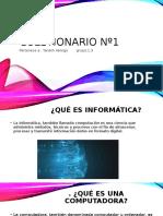 Cuestionario Nº1  informatica