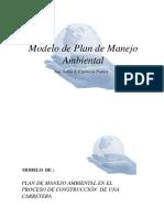 Modelo de Plan de Manejo Ambiental