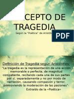 Concepto de Tragedia según Aristóteles