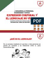 EXPRESION CORPORAL Y LENGUAJE NO VERBAL DS.PR.CYC
