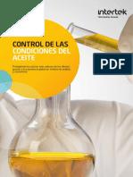 Control de las condiciones del aceite INTERTEK