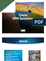 Cisco VPN Solutions