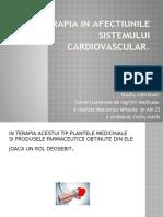 Fitoterapia in afectiunile sistemului cardiovascular
