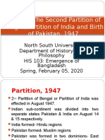 Class 05 - Birth of Pakistan 1947, Spring 2020.ppt