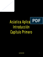 Acústica, generalidades, dB Cap.1