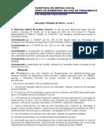 RESOLUÇÃO TÉCNICA Nº 007-17