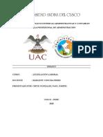 ENSAYO, Régimen laboral del portuario.docx