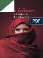 Tahar Ben Jelloun  - Casatorie de placere.pdf