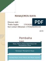 MANAJEMEN BIAYA TM 2 KEL 2