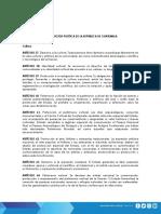 SECCION CUARTA CONSTITUCIÓN POLITICA DE LA REPUBLICA DE GUATEMALA