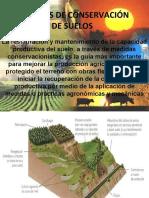 MEDIDAS DE CONSERVACIÓN DE SUELOS
