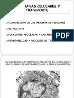 3. MEMBRANAS CELULARES Y TRANSPORTE EO