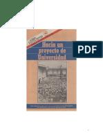 Hacia un proyecto de Universidad por Darío Valencia Restrepo