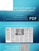 Cyber Security Its Impact on Financial Statements and Audit Amp Buisness Risk