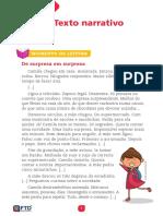 5º ano - Tema 01 - Texto narrativo (8004-FTD-2019-F1-5-T1)