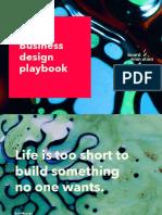 Business Design Playbook