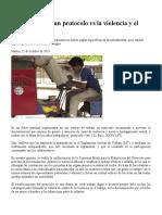 08 Cómo elaborar un protocolo vs la violencia y el trabajo infantil