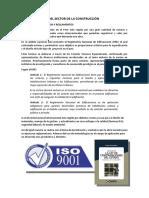 CARACTERÍSTICAS DEL SECTOR DE LA CONSTRUCCIÓN