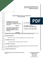2020-04-08 Dkt 16 Motion Re Affidavit of Prejudice