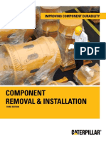 COMPONENT REMOVAL & INSTALLATION caterpillar