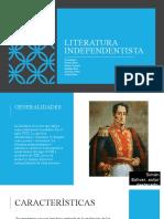 Literatura Independentista